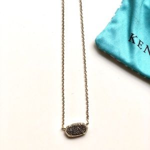🆕Kendra Scott Elisa Necklace Platinum Drusy